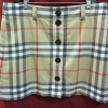 Burberry London Classic Nova Check Wool Skirt