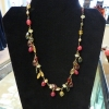 Gem Stone & Crystal Necklace