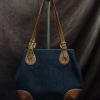 Aigner Canvas Handbag